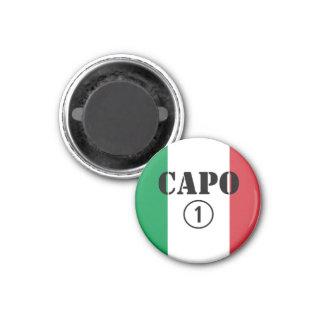 Italian Bosses : Capo Numero Uno Refrigerator Magnet