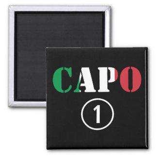 Italian Bosses : Capo Numero Uno Fridge Magnet