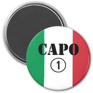 Italian Bosses : Capo Numero Uno Refrigerator Magnets