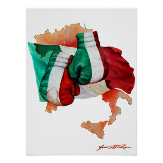 Italian Boxing Heritage Poster
