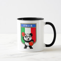 Combo Mug with Italian Boxing Panda design