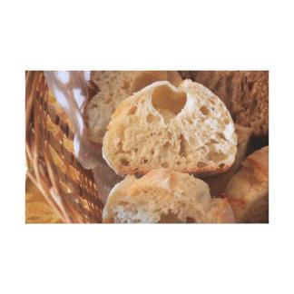 Italian Bread Canvas Print
