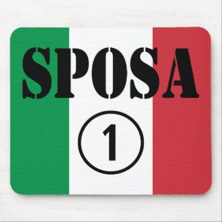 Italian Brides : Sposa Numero Uno Mouse Pad