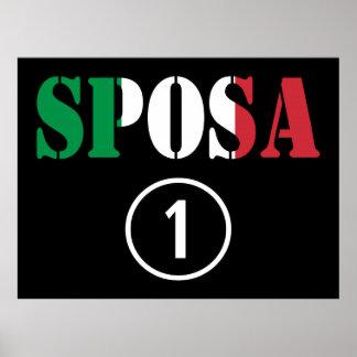 Italian Brides : Sposa Numero Uno Posters