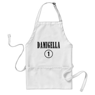 Italian Bridesmaids : Damigella Numero Uno Adult Apron