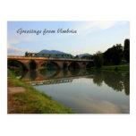 Italian Bridge Postcard