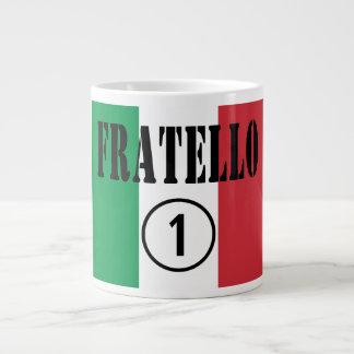 Italian Brothers : Fratello Numero Uno Giant Coffee Mug