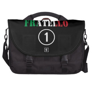 Italian Brothers : Fratello Numero Uno Computer Bag