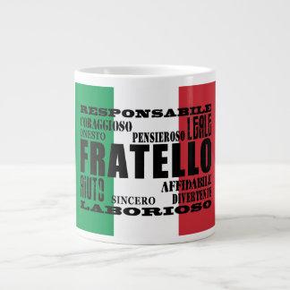 Italian Brothers : Qualities Giant Coffee Mug