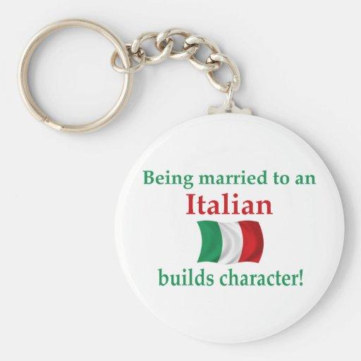 Italian Builds Character Keychain