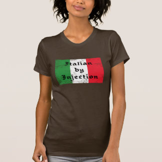 Italian by Injection Funny Womens Shirt