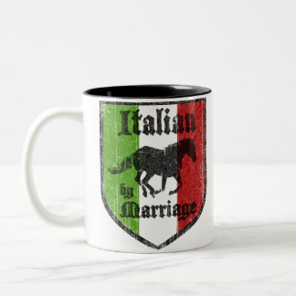 Italian by Marriage Coffee Mug