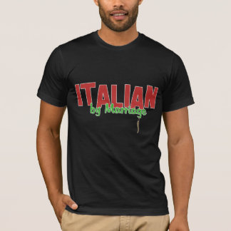 Italian By Marriage - Italian Horn - Dark Shirt