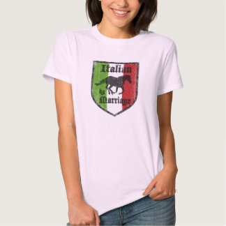 Italian by Marriage Womens T-Shirt