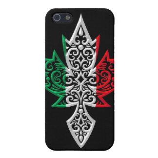 Italian Canadian Maple Leaf - black Case For iPhone SE/5/5s