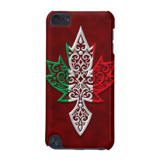 Italian Canadian Maple Leaf iPod Touch (5th Generation) Covers