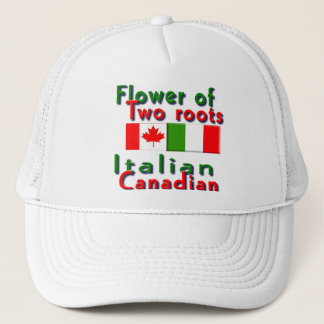 Italian-Canadian Trucker Hat