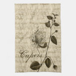 Italian Capers Floral Kitchen Towels