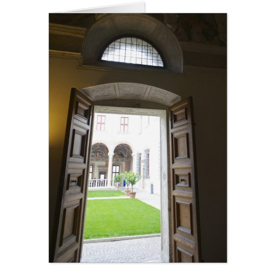 Italian cards, Buonconsiglio Castle Trento Card