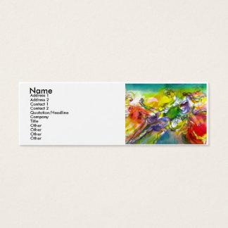 ITALIAN CARNIVAL /Dance ,Music,Theater Artist Mini Business Card