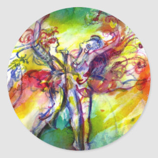 ITALIAN CARNIVAL / Dance,Music,Theater Classic Round Sticker