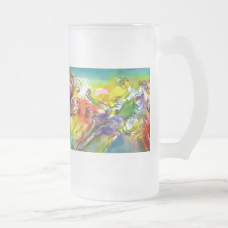 ITALIAN CARNIVAL / Dance,Music,Theater Frosted Glass Beer Mug