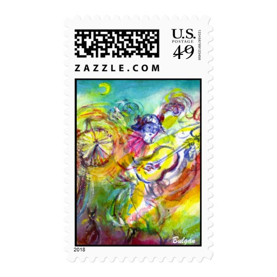ITALIAN CARNIVAL / Dance,Music,Theater Postage