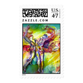 ITALIAN CARNIVAL / Dance,Music,Theater Postage Stamp