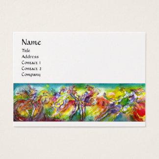 ITALIAN CARNIVAL ,Dance Music,Theater White Pearl Business Card