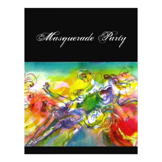 ITALIAN CARNIVAL Masquerade Ball,Dance and Music Flyer