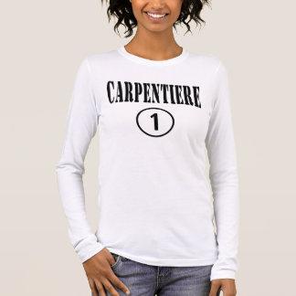 Italian Carpenters : Carpentiere Numero Uno Long Sleeve T-Shirt