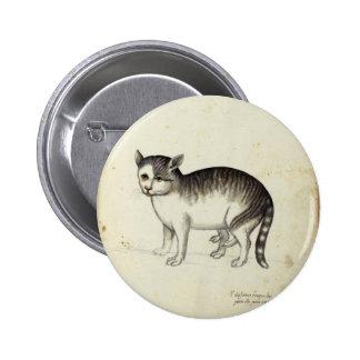 Italian Cat Artwork Pin