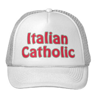 Italian Catholic Trucker Hat