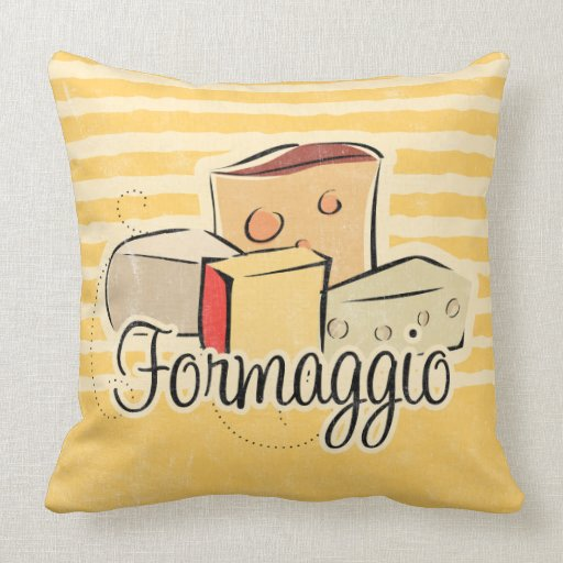 Italians love cheese and this great design features the italian word