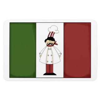 Italian Chef #1 Premium Magnet