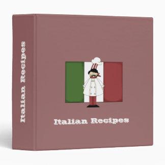 Italian Chef #1 Recipe Binder