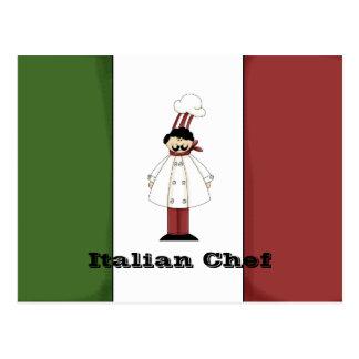 Italian Chef #1 Recipe Card