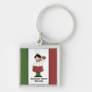 Italian Chef #3 Keychain