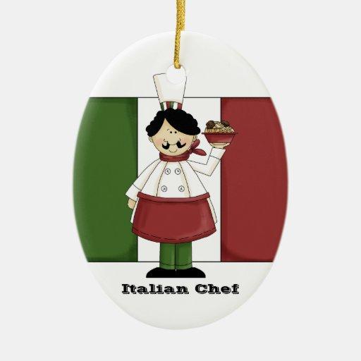 Italian Chef #3 Kitchen Ornament