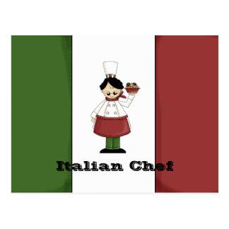 Italian Chef #3 Recipe Card
