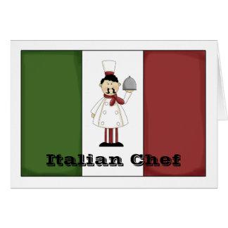 Italian Chef #4 Card