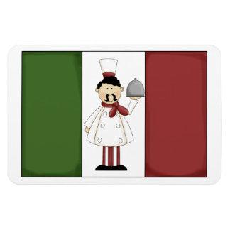 Italian Chef #4 Premium Magnet
