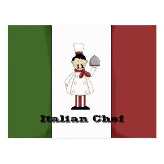 Italian Chef #4 Recipe Card