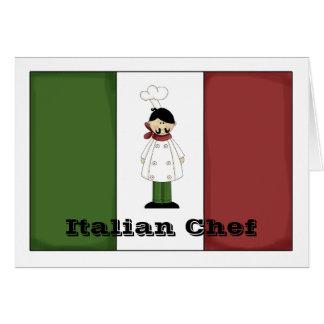 Italian Chef #5 Card