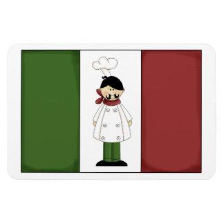 Italian Chef #5 Premium Magnet