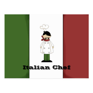 Italian Chef #5 Recipe Card