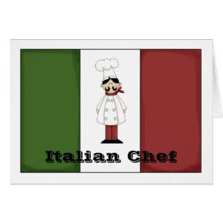 Italian Chef #6 Card