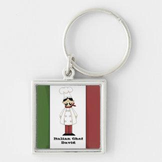 Italian Chef #6 Keychain