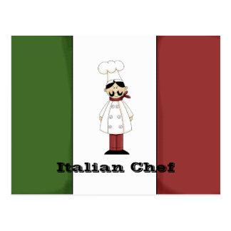Italian Chef #6 Recipe Card