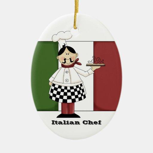 Italian Chef #7 Kitchen Ornament